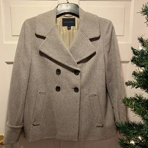 Banana Republic~ Grey Pea Coat